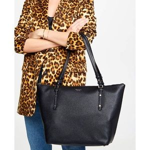 KATE SPADE Luxurious Leather Work & Laptop Bag